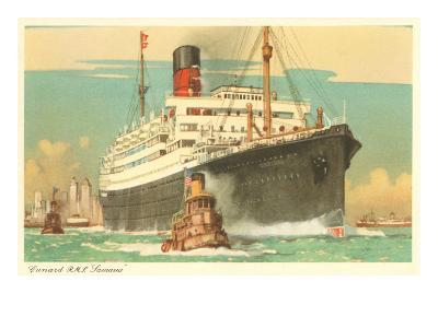 Cunard Ocean Liner RMS Samaria
