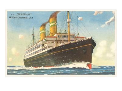 Holland-America Ocean Liner SS Veendam