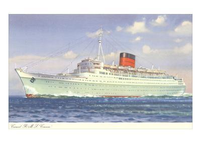 Cunard Caronia, Ocean Liner