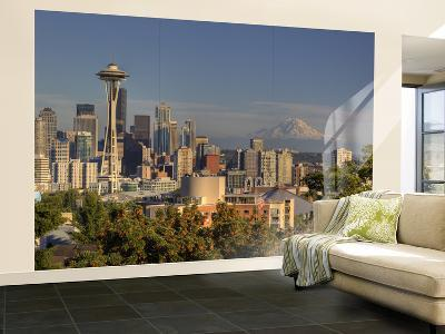 Skyline From Kerry Park, Seattle, Washington, USA