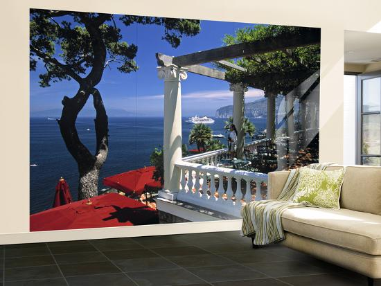 Sorrento Bay Of Naples Italy Wall Mural Large By