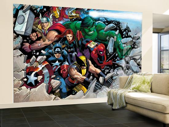 Son Of Marvel Reading Chronology Cover Thor Wall Mural