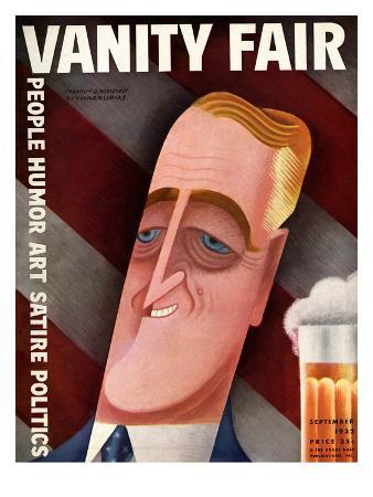 Vanity Fair Cover - September 1932
