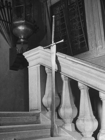 Executioner's Sword from the 14th Century Being Displayed in the Doge's Palace