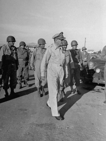 General Douglas Macarthur in Manila