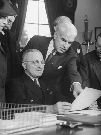 President Harry Truman with the Delegation to the San Francisco Conference