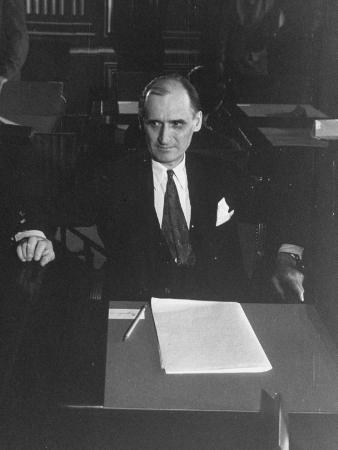 Yugoslavian Stoyan Gavrilovic, During the UN Conference Jurists Meeting