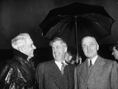 Henry A. Wallace Talking with Harry S. Truman