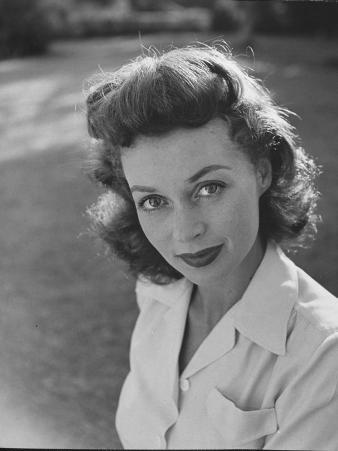 Actress Lilli Palmer