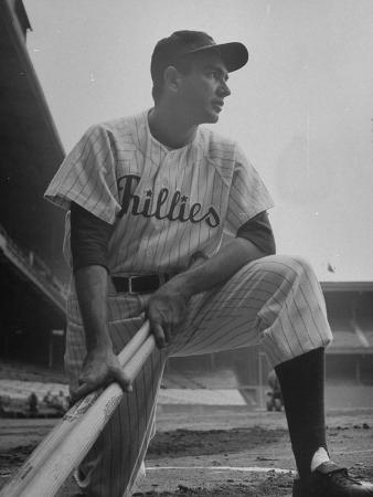 "Philadelphia Phillies Player Willie ""Puddin Head"" Jones"