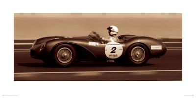 The First Corner (Aston Martin DB3S 1955)