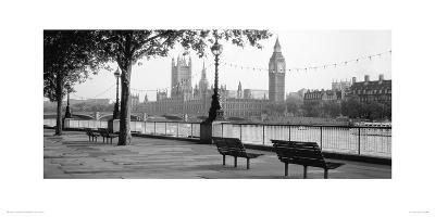 Houses Of Parliament And The River Thames