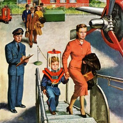"""""""Space Traveller"""", November 8, 1952"""