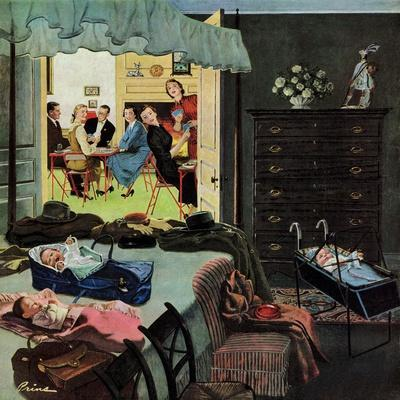 """Baby Bridge Party"", November 24, 1956"