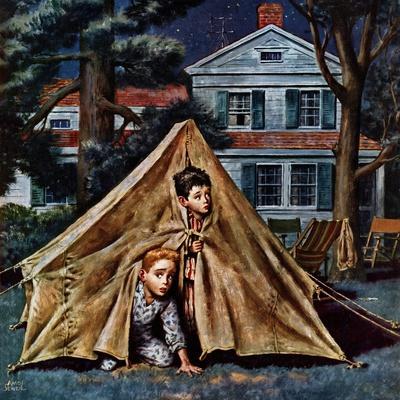 """""""Backyard Campers"""", September 5, 1953"""