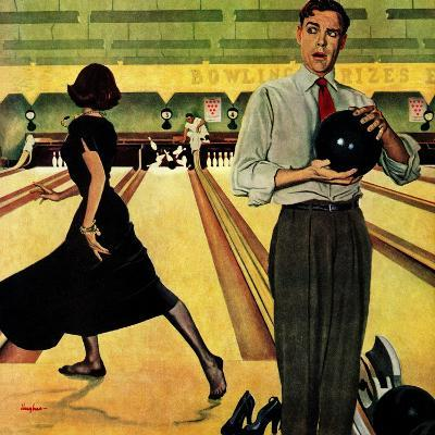 """Bowling Strike"", January 28, 1950"