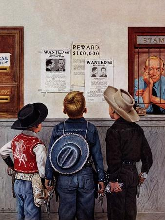 """Wanted Posters"", February 21, 1953"