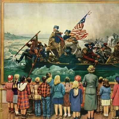 """Washington Crossing the Delaware"", February 24, 1951"