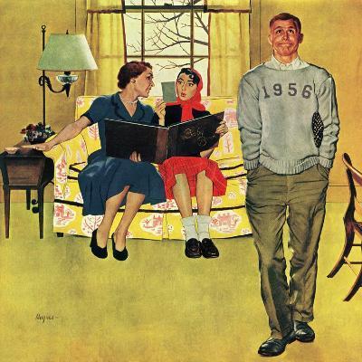 """""""Boyfriend's Baby Pictures"""", March 14, 1953"""