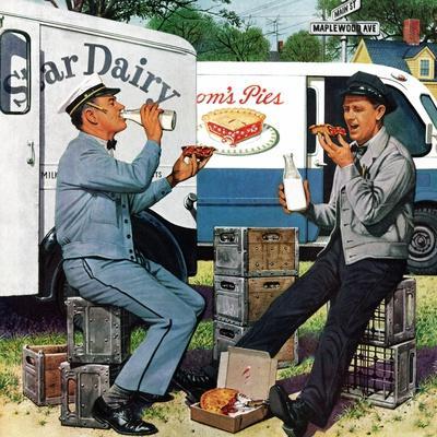 """""""Milkman Meets Pieman"""", October 11, 1958"""