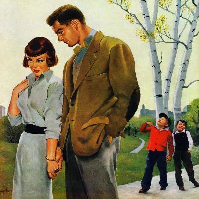 """Mocking Romance"", March 31, 1951"