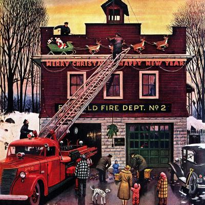 """Christmas at the Fire Station"", December 16, 1950"