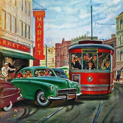 """""""Parallel Parking"""", April 1, 1950"""