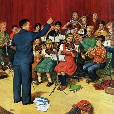 """School Orchestra"", March 22, 1952"