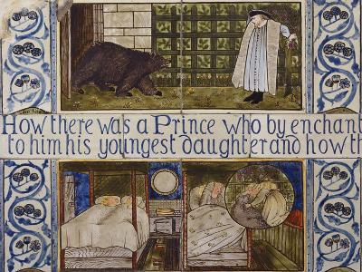 Beauty and the Beast', a Morris, Marshall, Faulkner and Co Tile Panel (Detail)