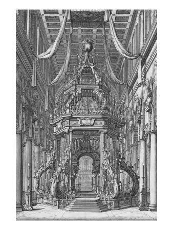The Funerals of Fernando Ii and Cosimo Iii; Esequie Del Serenissimo Fernando Ii