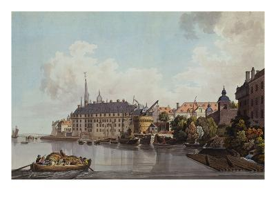 The City of Dusseldorf; Die Stadt Dusseldorf. from 'A Collection of 50 Views of the Rhine'