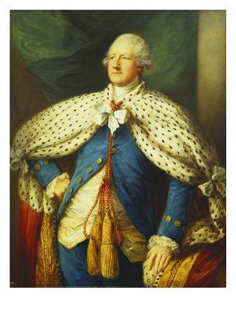 Portrait of John, 2nd Earl of Buckinghamshire, Three-Quarter Length, in Peer's Robes