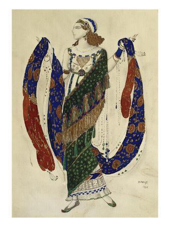 Costume Design for Cleopatra - a Dancer