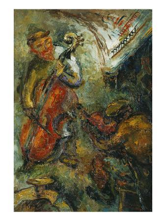 The Two Musicians; Les Deux Musiciens