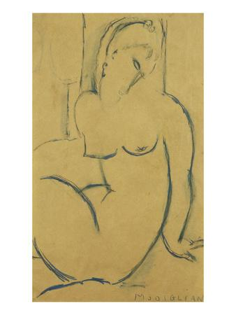 Seated Woman; Femme Assise