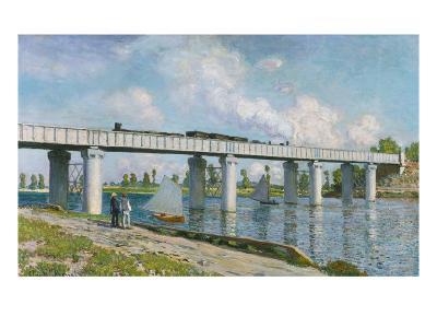 The Iron Track Bridge at Argenteuil; Pont Du Chemin De Fer a Argenteuil