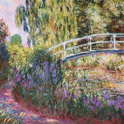 The Japanese Bridge, Pond with Water Lillies; Le Pont Japonais Bassin Aux Nympheas