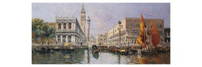 The Piazzetta from the Lagoon, Venice