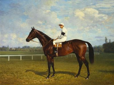 The Racehorse, 'Northeast' with Jockey Up
