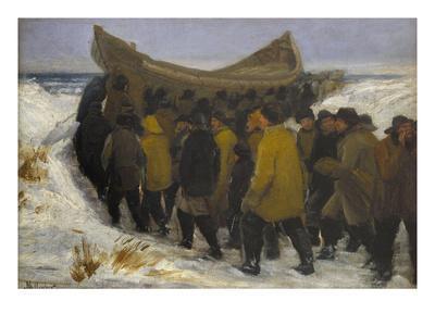 Launching the Fishing Boat