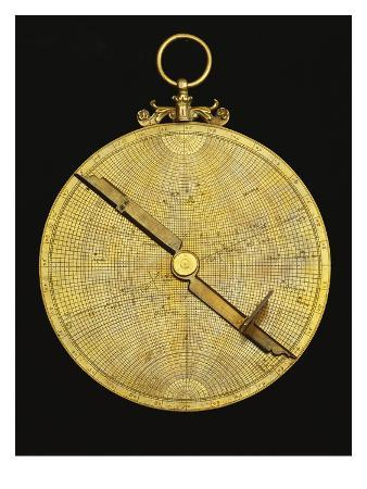 A Fine Late 16th or 17th Century European Brass Astrolabe Possibly Flemish