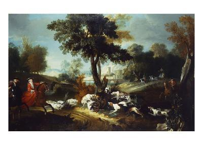 The Hunt with Wolf; La Chasse Au Loop