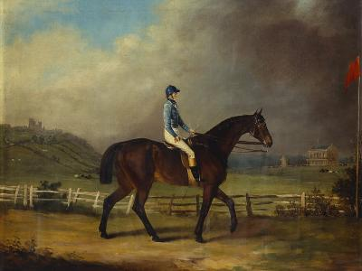 Mr. Hindley's Brown Filly 'Rosina' by 'Romulus' Ridden by the Owner on Lincoln Race Course