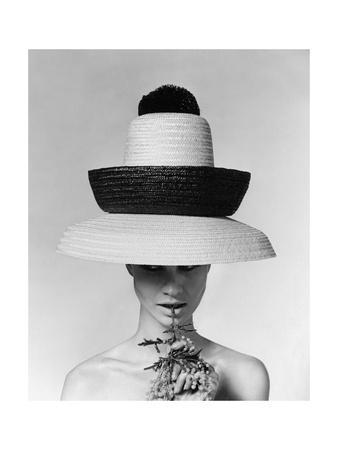 Vogue - June 1963 - Galitzine Hat