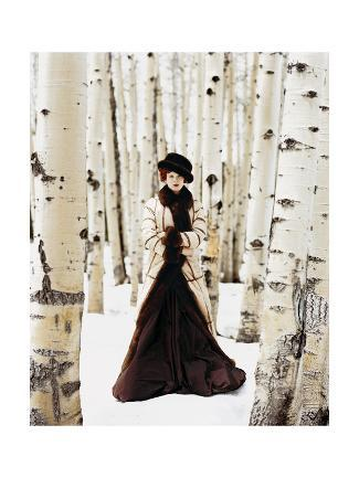 Vogue - October 1999 - Winter Among the Trees