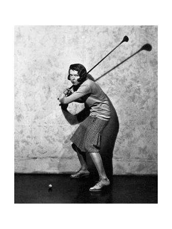Colleen Moore, The American Golfer November 1930