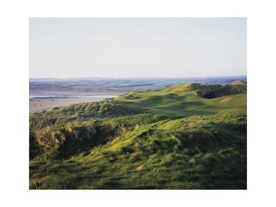 Lahinch Golf Club, fairway between dunes