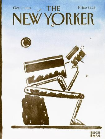 The New Yorker Cover - October 7, 1991