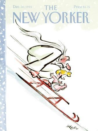 The New Yorker Cover - December 30, 1991