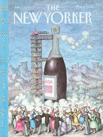 The New Yorker Cover - January 1, 1990